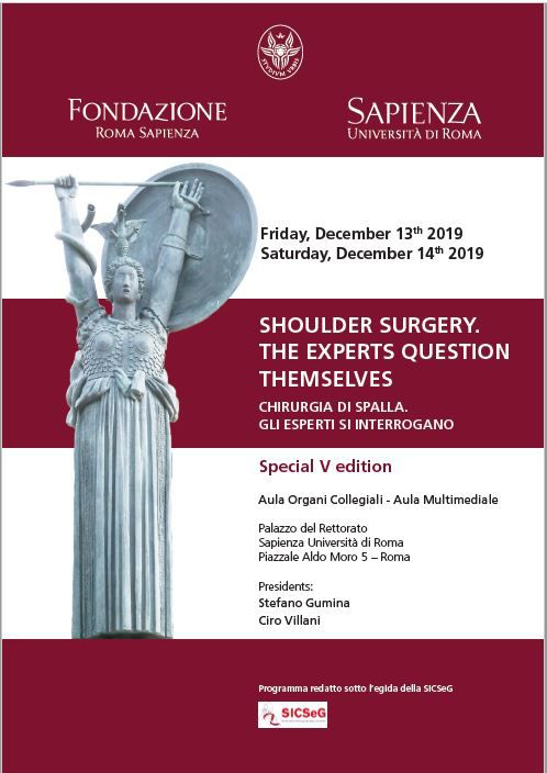 Shoulder Surgery. The experts question themselves.
