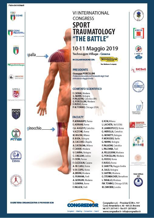 "VI INTERNATIONAL CONGRESS SPORT TRAUMATOLOGY ""THE BATTLE"""