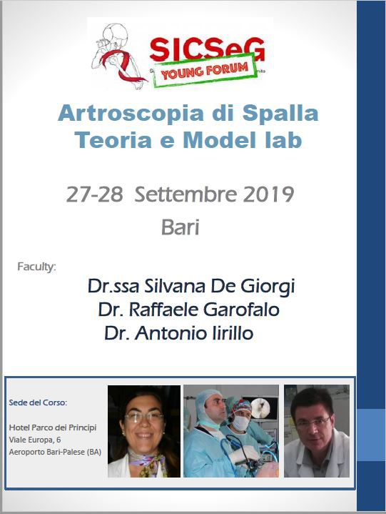 Artroscopia di Spalla - Teoria e Model Lab